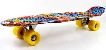 "Пенни борд, Penny Board Nickel 27"" Graffity, фото 2"