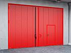 Распашные противопожарные ворота DoorHan с классом огнестойкости EI60, фото 2