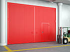 Распашные противопожарные ворота DoorHan с классом огнестойкости EI60, фото 3