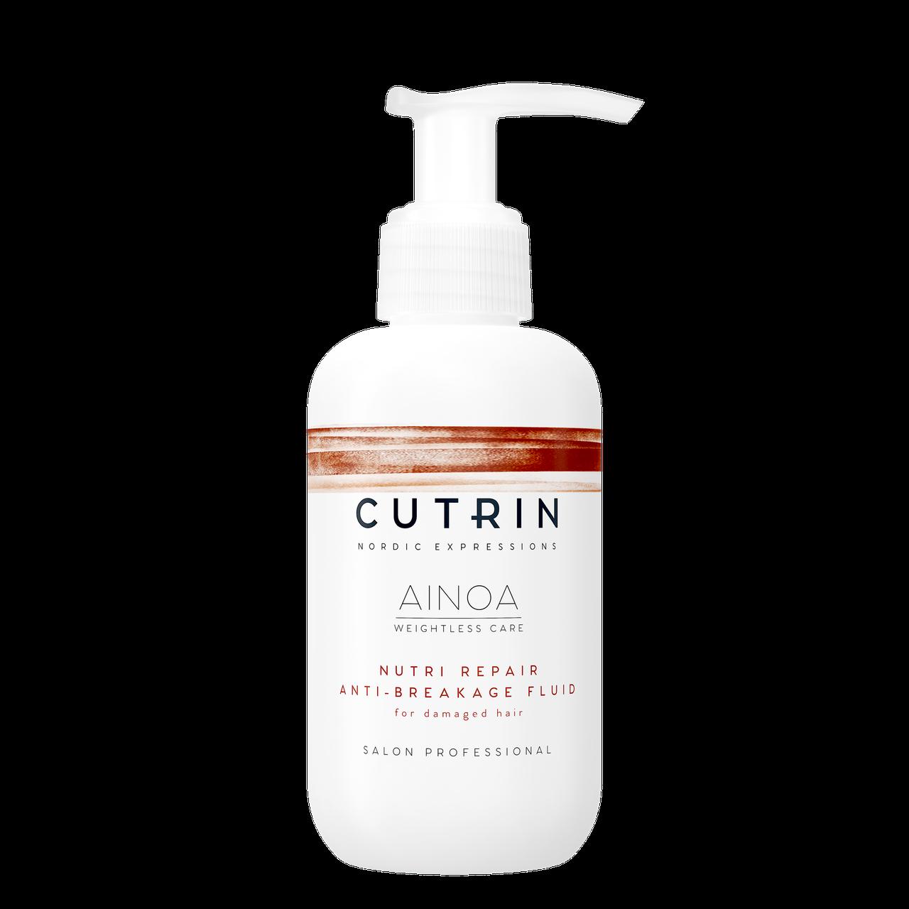 Cutrin nutri repair anti breakage fluid Восстанавливающий флюид, 150 мл