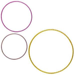 Набор обручей детских 3 шт диаметр 60/68/78 Profi MS 2531