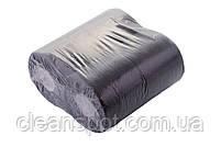 Туалетная бумага черного цвета 3-х слойная целлюлоза на гильзе, фото 3