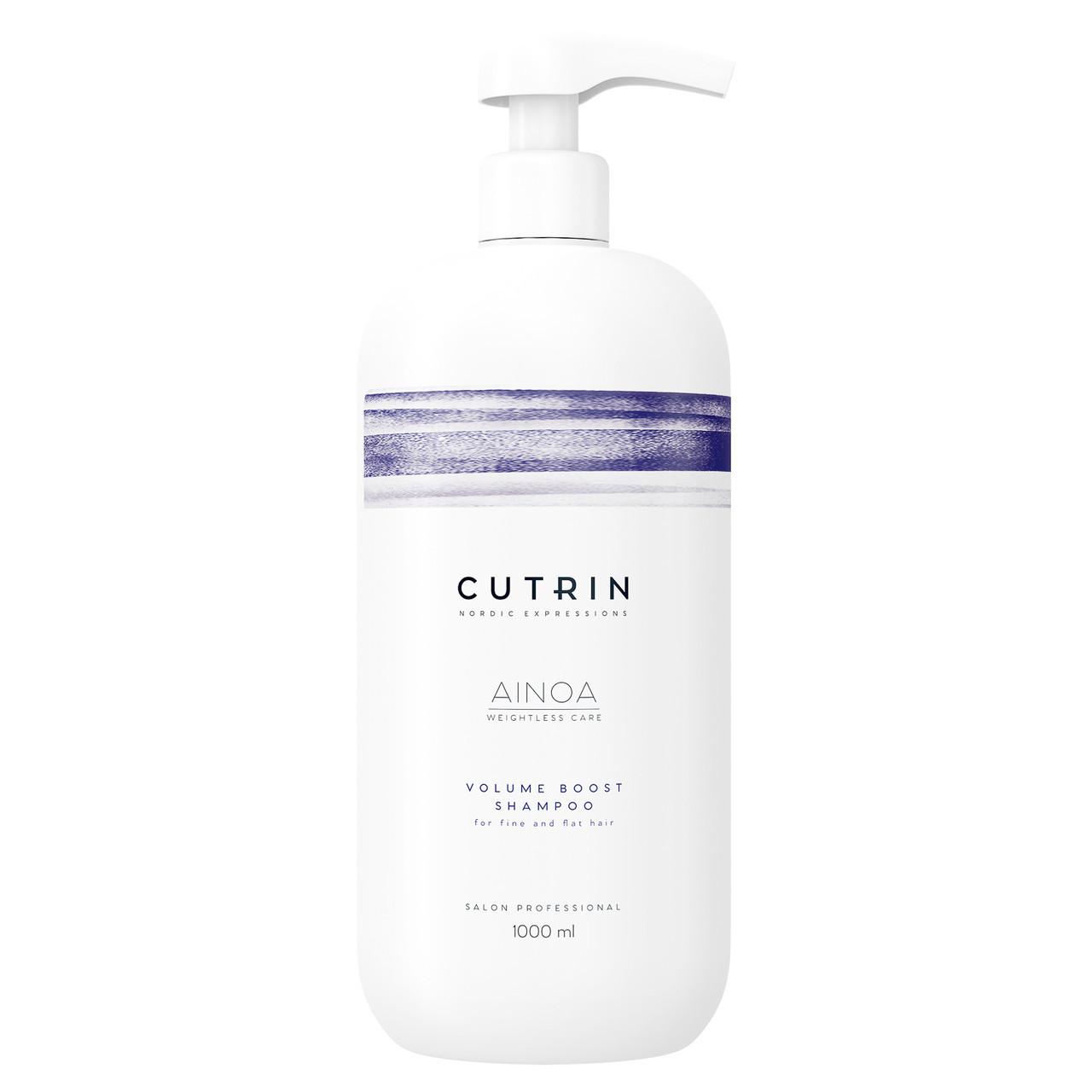 Cutrin volume boost shampoo Шампунь для объема без сульфатов, 1000 мл