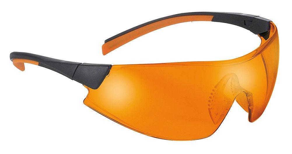 Очки защитные Univet (Юнивет) 546.03.42.04 оранжевые фотополимерные
