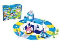 """Игровой набор Police - Гараж для машин """"Robocar Poli"""" """"Робокар Поли"""" с 2 машинками Поли+ Эмбер"""