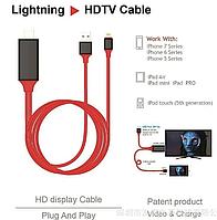 Перехідник з смартфона - HDMI / телевізор , iPad Lightning, фото 1