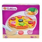 Дитяча іграшкова піца нарізна дерев'яна Eichhorn 3730 для дітей, фото 3
