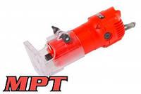 """MPT  Фрезер ручной (кромочный) 500 Вт, патрон 6 мм - 1/4"""", 32000 об/мин, доп.щетки, Арт.: MLT5003"""