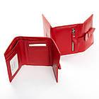 Женский кожаный кошелек Dr.Bond (10x12.5x2.5 см) красный, фото 2