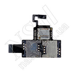 Шлейф HTC Desire V T328w с sim-коннектором
