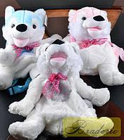 Мягкая игрушка-рюкзак Волк 17078