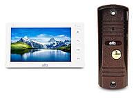 Комплект видеодомофона ATIS AD-760 Kit box Белый, фото 1