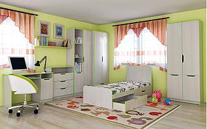 Меблі для дитячої кімнати Маттео 2
