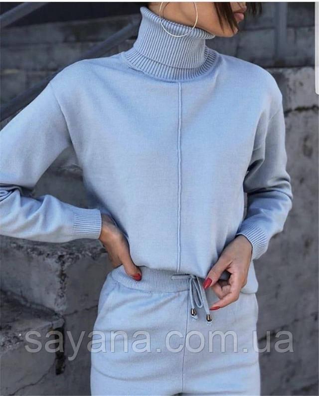 женский вязаный костюм интернет