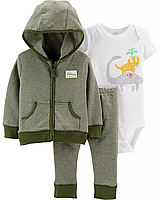 Легкий спортивный костюм для малыша carter's Динозаврик 6 мес/61-67 см