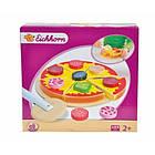 Дитяча іграшкова піца нарізна дерев'яна Eichhorn 3730 для дітей, фото 4