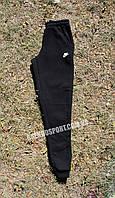 XL, XXL Штаны спортивные мужские теплые NIKE черные