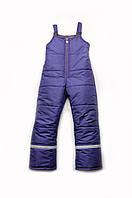 Зимние штаны полукомбинезон для мальчиков и девочек