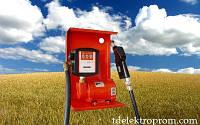 Насос для заправки, перекачки бензина, керосина, ДТ со счетчиком SAG 600 + MG80V 12В 24В 45-50 л/мин