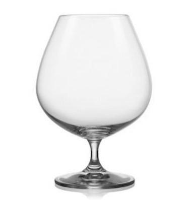 Набор бокалов для бренди 600 мл 6 шт Viola Bohemia 40729/600