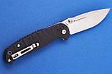 Нож складной Real Steel H6 Grooved Black (7785 ), фото 3