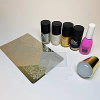 Набор для стемпинг дизайна ногтей универсальный №2