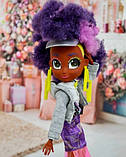 Большие куклы Хердораблс Hairdorables Hairmazing старшие сестры Kali Fashion Doll, фото 3