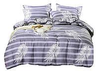 Комплект постельного белья Сатин Dalwin 145 M&M 2761 Белый, Фиолетовый
