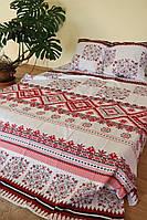 """Двуспальный комплект постельного белья """"Вышиванка Украиночка"""""""