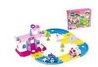 """Игровой набор Hospital - Гараж для машин """"Robocar Poli"""" """"Робокар Поли"""" с 2 машинками Поли+ Эмбер"""