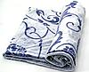 Плед микрофибра вензель 180х200 см Синий, фото 2