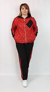 Турецкий женский костюм в спортивном стиле, размеры 52-64