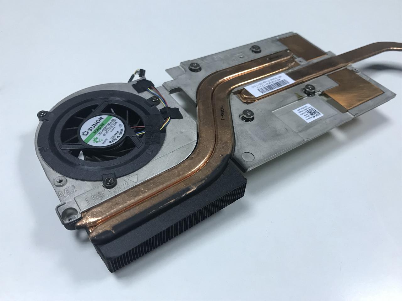 Система охлаждения кулер, радиатор для ноутбука Dell Precission M6600 (AMD ATI Firepro M8900)