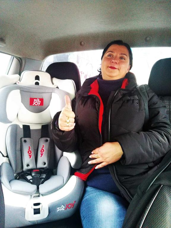Детское автокресло 9-36 кг ТМ Joy