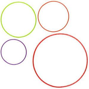 Детский набор обручей ProfiMS 2530 4 штуки диаметр 48/59/67/78