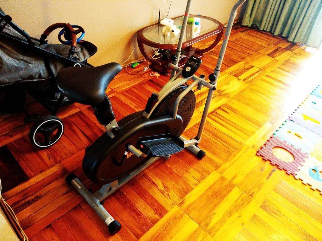 Орбитрек и велотренажер 2в1 Хаусфит 8169S