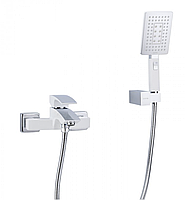 Змішувач для ванни білий / хром Gappo Jacob G3007-7