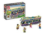 """Конструктор типа лего """"Экскурсионный автобус"""" (455 деталей), ТМ Brick, 1123"""