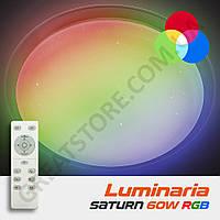 Потолочный светодиодный светильник LUMINARIA SATURN 60W RGB R-555-SHINY-220V-IP44 с пультом ДУ