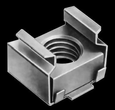 Гайка закладная М8 04 цб 1,0-1,7 16,8х14,0