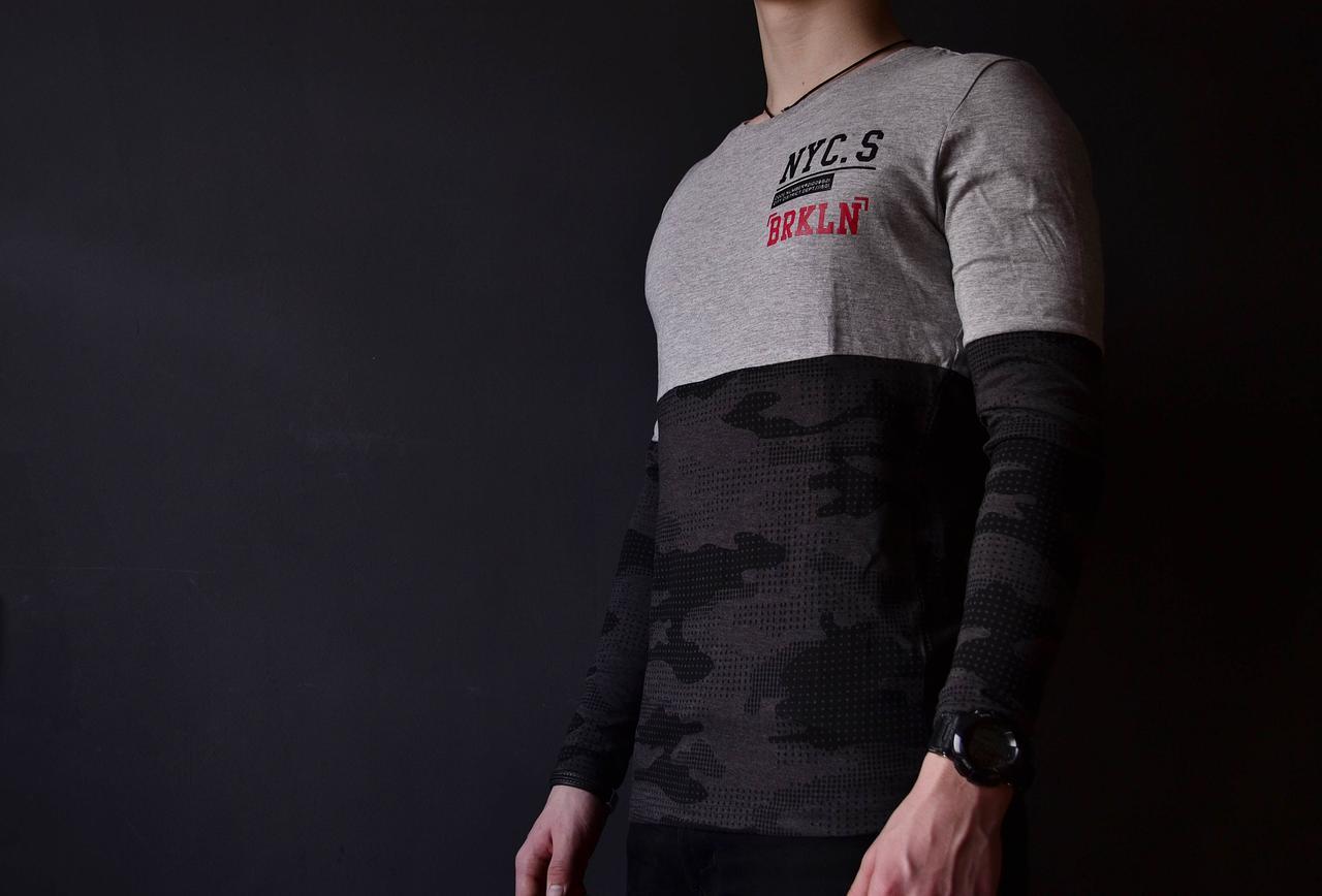 Мужская футболка с рукавами Glostory