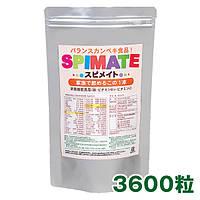 ALGAE SPIMATE Японская спирулина для детей и взрослых 100%, 3600 шт
