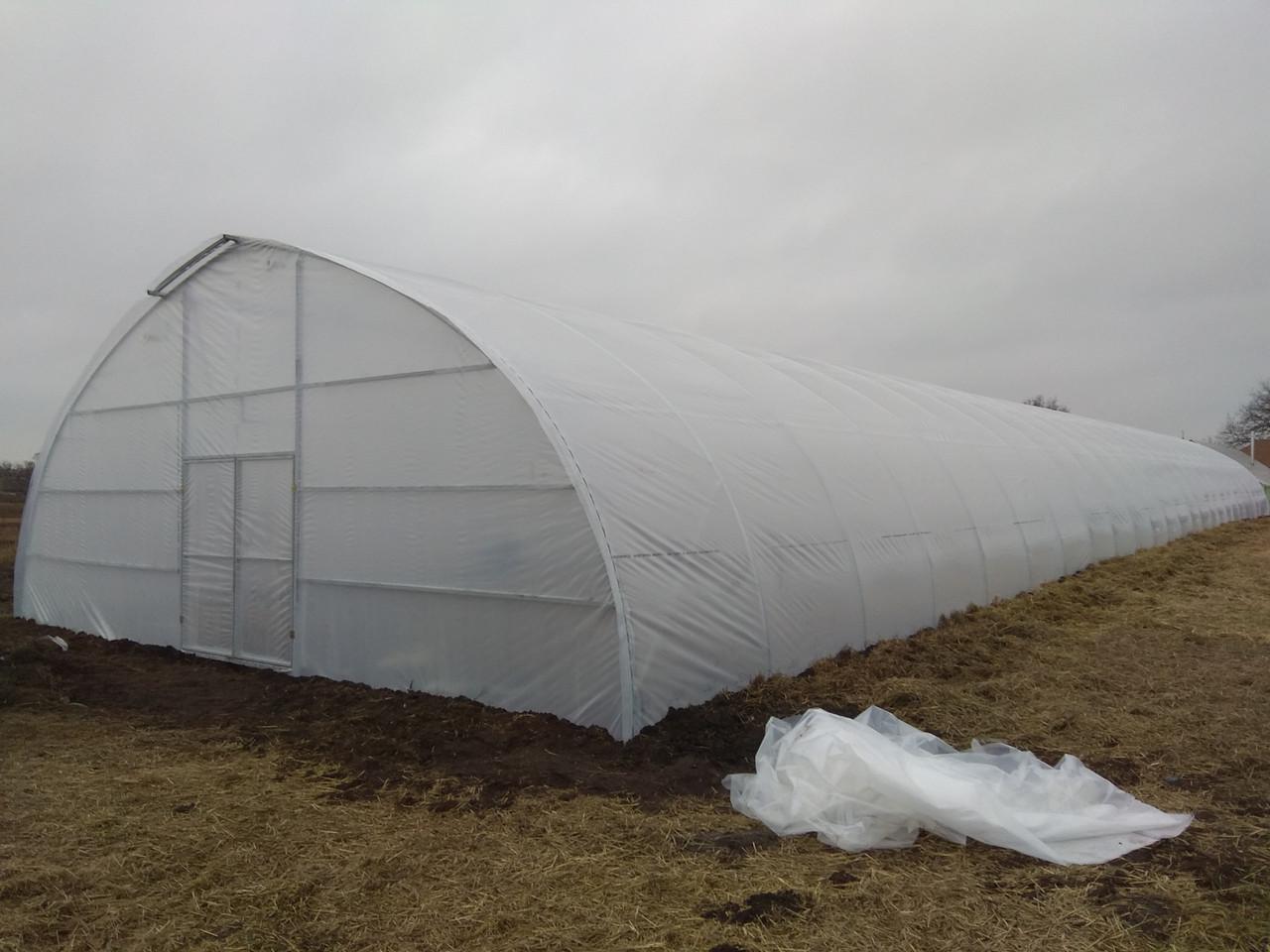 Теплицы для бизнеса для зимнего выращивания с наддувом
