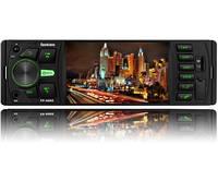 Автомагнитола с Bluetooth  FANTOM FP-4060 Black/Green