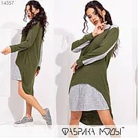 Жіноча спортивна сукня з ангори софт, фото 1