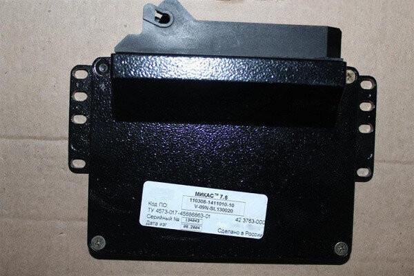 Электронный блок управления ЭБУ МИКАС 7.6 110308-1411010