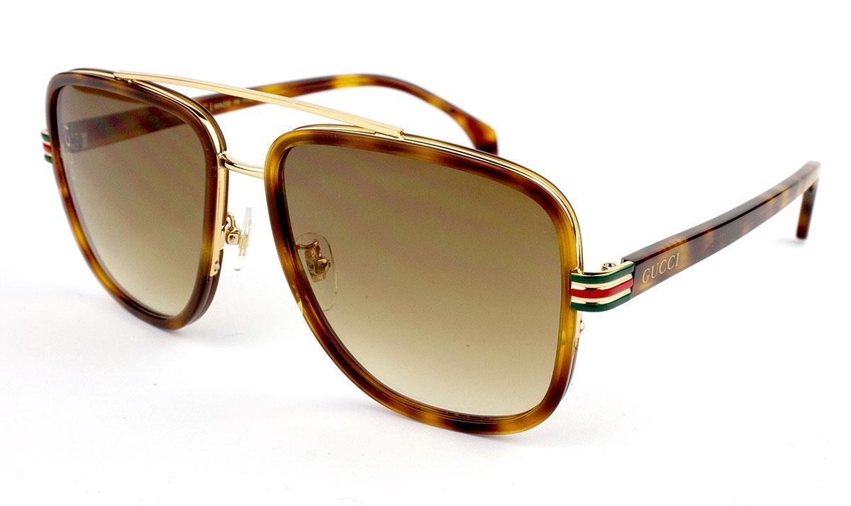 Солнцезащитные очки в стиле Gucci