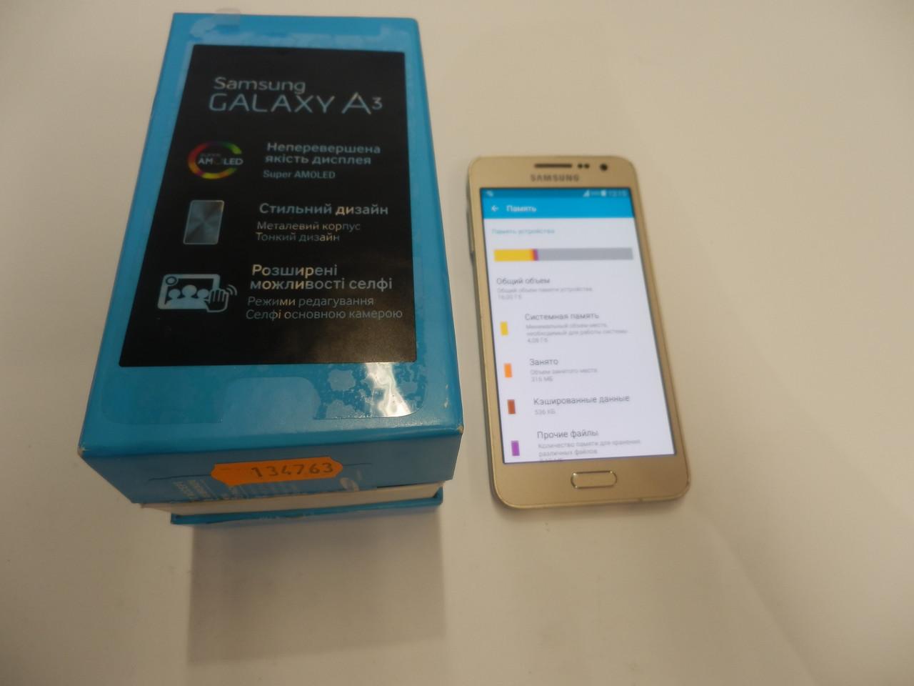 Мобильный телефон Samsung Galaxy A3 SM-A300 №7349