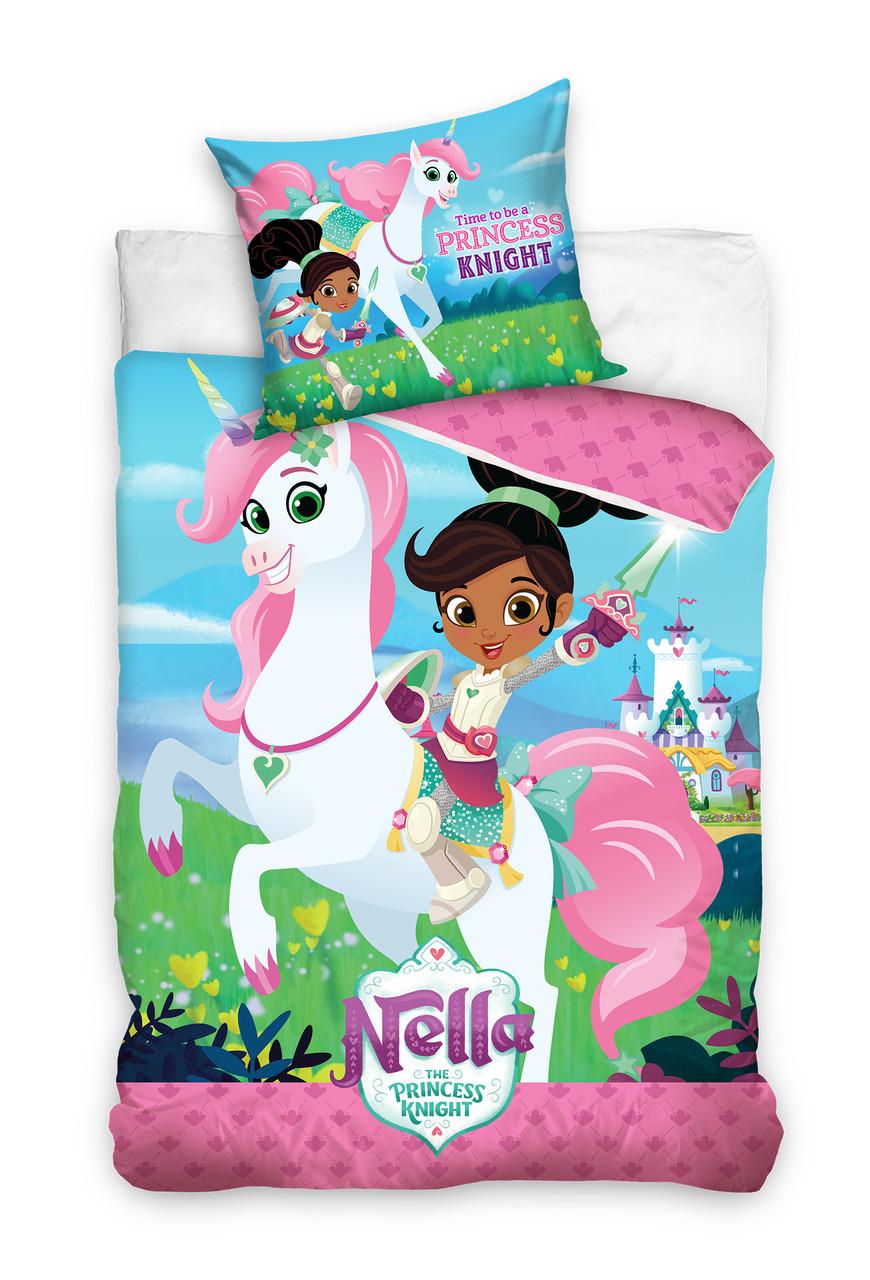 Комплект постельного белья Детский 1277 M&M 2455 Синий, Розовый, Зеленый