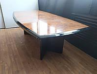 Комплект для переговорной комнаты  (стол, шкафы) Б/У. Мебель для офиса.